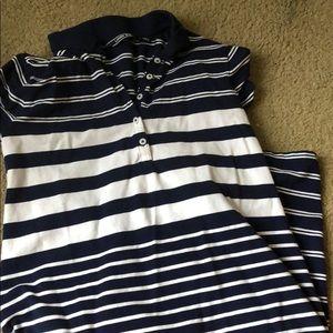 Striped Lands End dress (worn once)